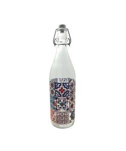 Bottiglia Acqua Disegno Geroglifici Lit. 1