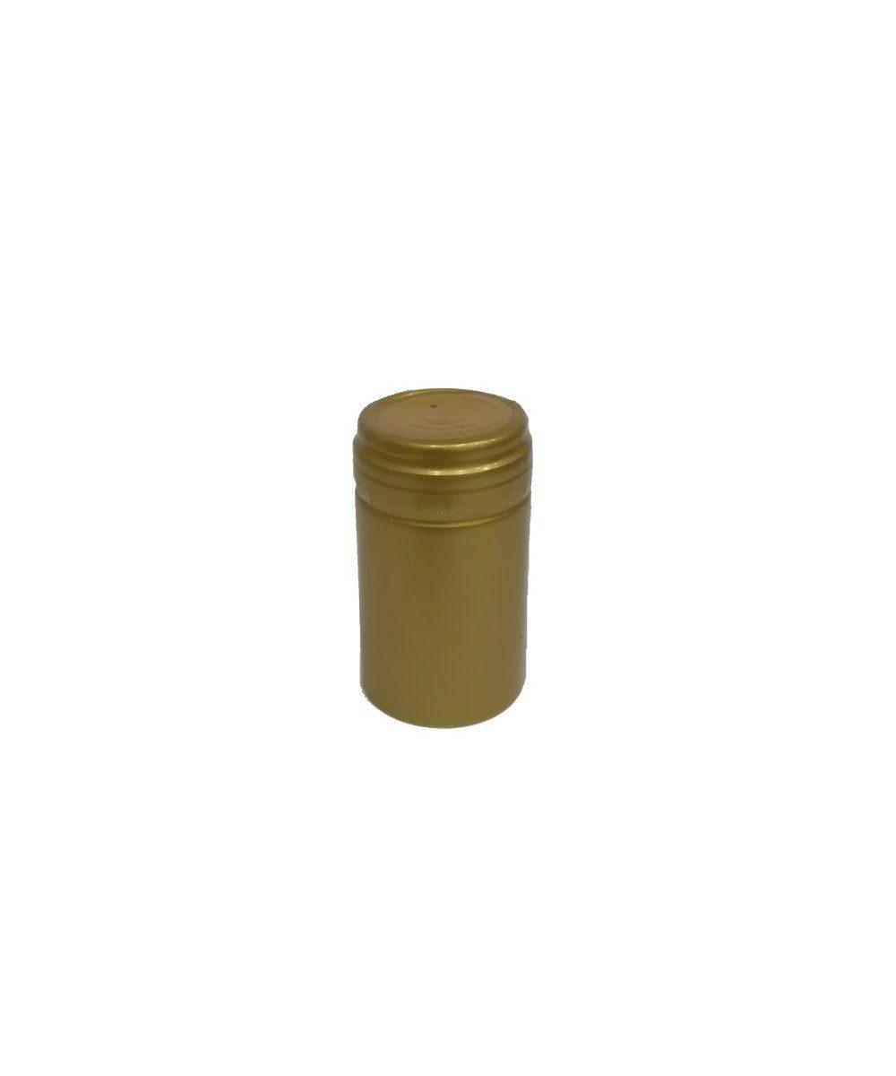 Capsula in pvc colore oro 31,5