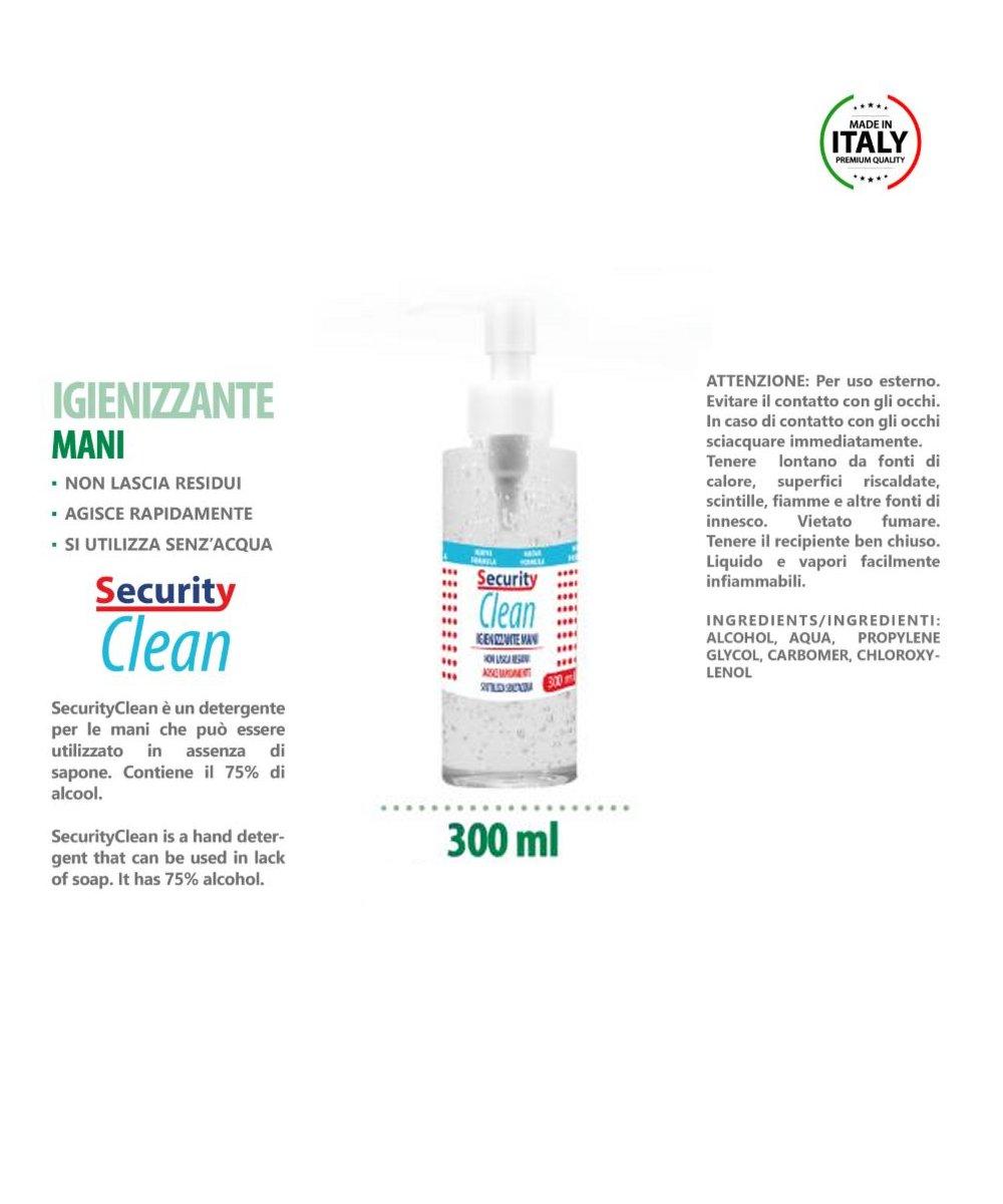 Gel Igienizzante Mani 300 ml Icona