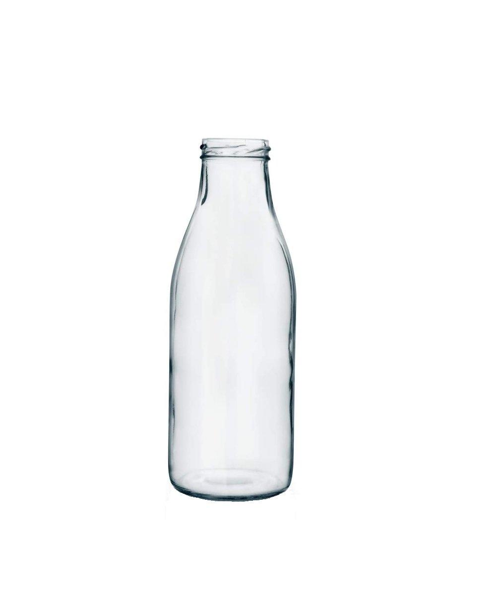 Bottiglia Latte Tappo oro