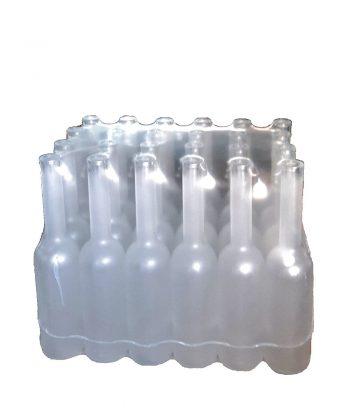 Bottiglia Satinata in pacchoi da 24 pezzi 0,50