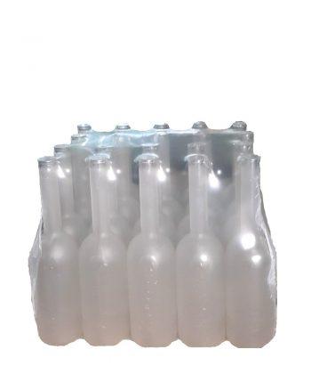 Bottiglia Satinata lemon in pacchi da 20 pezzi litri 0,70