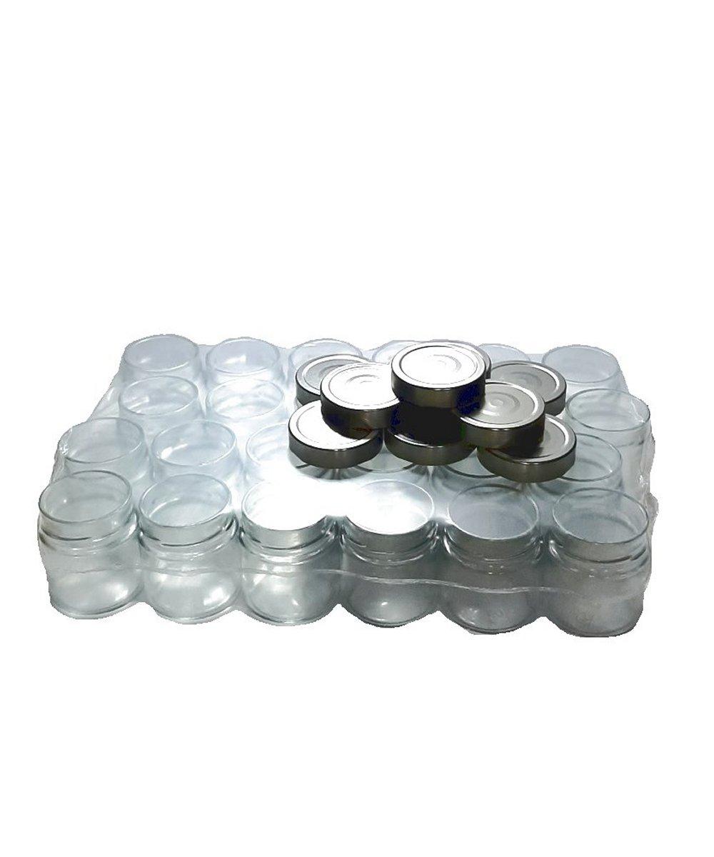 Vaso Ergo cc 212 pacco 24 tappi argento